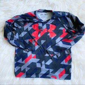 ✨Under Armour✨Boys Small✨Long Sleeve Pajama Top